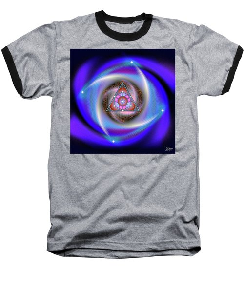 Sacred Geometry 687 Baseball T-Shirt