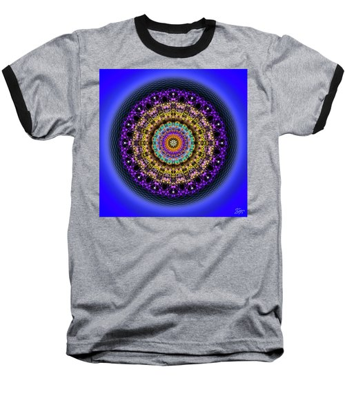 Sacred Geometry 708 Baseball T-Shirt