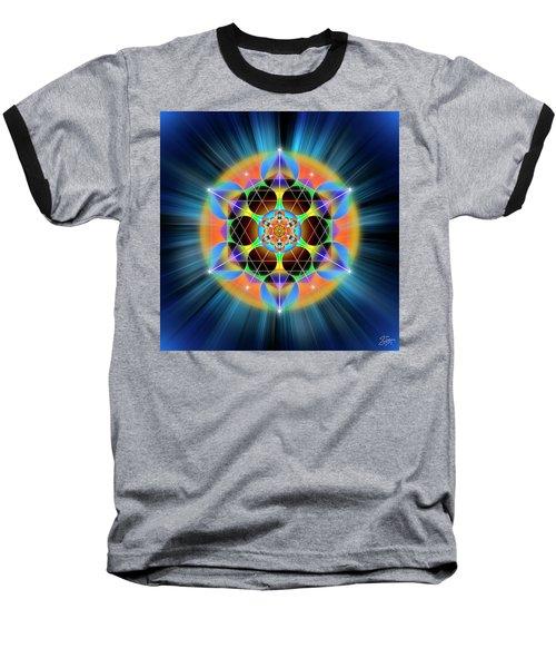 Sacred Geometry 709 Baseball T-Shirt