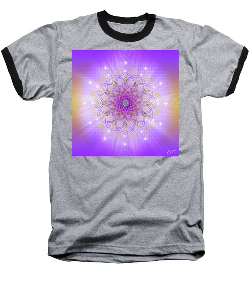 Sacred Geometry 721 Baseball T-Shirt