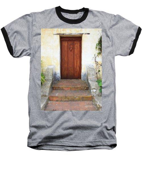 Sacred Heart Door Baseball T-Shirt