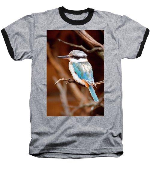 Sacred Kingfisher Baseball T-Shirt