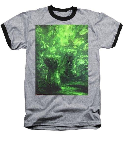 Sacred Latte Stones Baseball T-Shirt