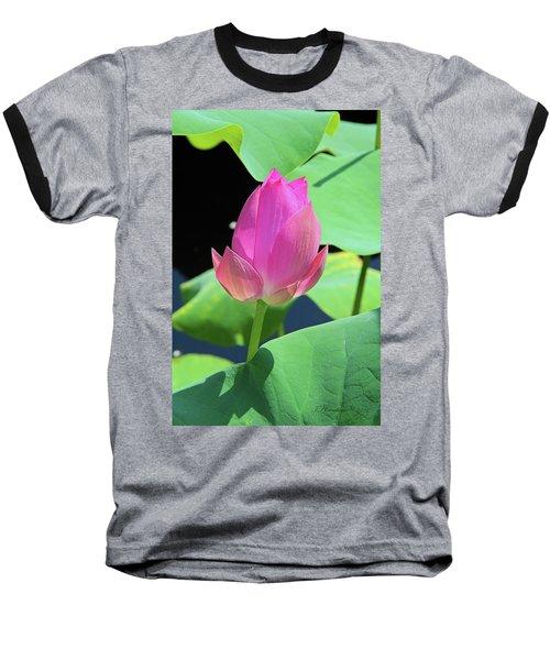 Sacred Pink Baseball T-Shirt