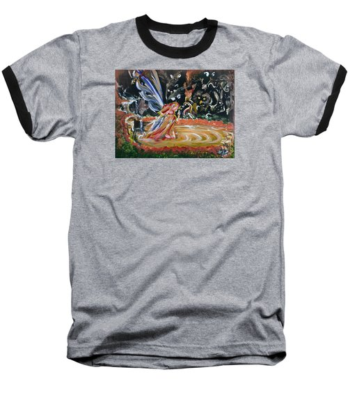 Sacred Pool 2 Baseball T-Shirt