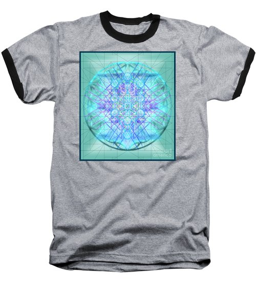 Sacred Symbols Out Of The Void 3b1 Baseball T-Shirt by Christopher Pringer