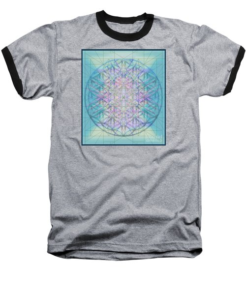 Sacred Symbols Out Of The Void 4b Baseball T-Shirt by Christopher Pringer
