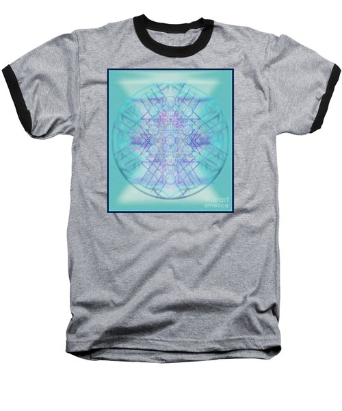 Sacred Symbols Out Of The Void A2b Baseball T-Shirt by Christopher Pringer