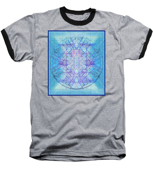 Sacred Symbols Out Of The Void A3c Baseball T-Shirt by Christopher Pringer