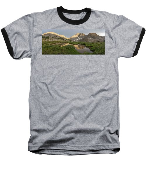 Sacred Temple Baseball T-Shirt by Dustin LeFevre