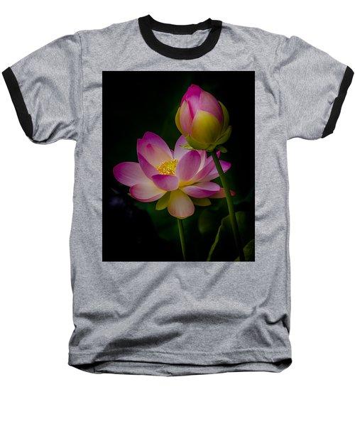 Sacred Water Lily 4 Baseball T-Shirt