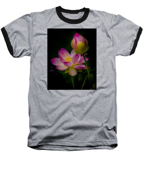 Sacred Water Lily 4 Baseball T-Shirt