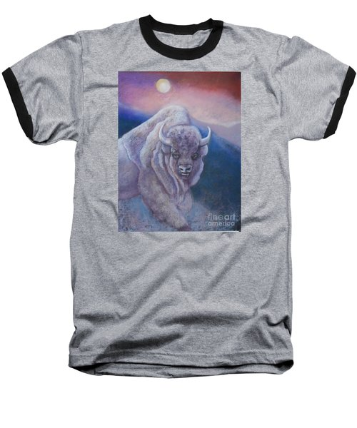 Sacred White Buffalo Baseball T-Shirt