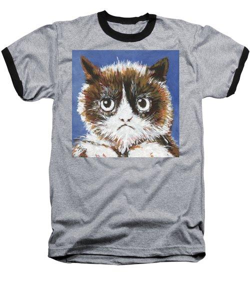 Sad Cat Baseball T-Shirt