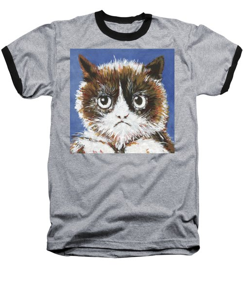 Sad Cat Baseball T-Shirt