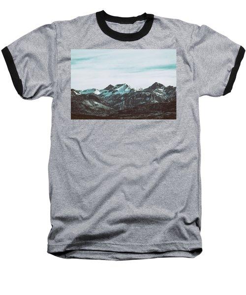 Saddle Mountain Morning Baseball T-Shirt