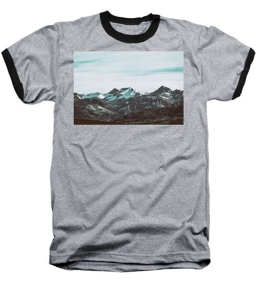 Saddle Mountain Morning Baseball T-Shirt