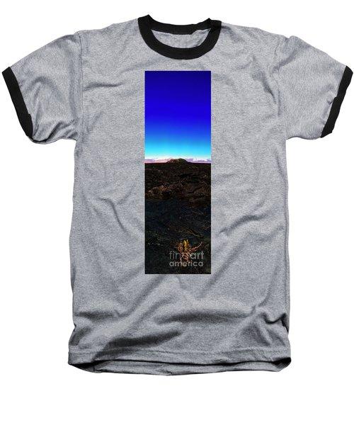Saddle Road Humuula Lava Field Big Island Hawaii  Baseball T-Shirt