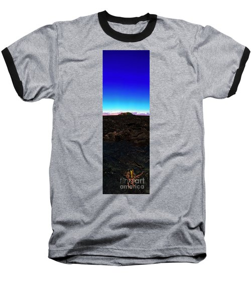 Saddle Road Humuula Lava Field Big Island Hawaii  Baseball T-Shirt