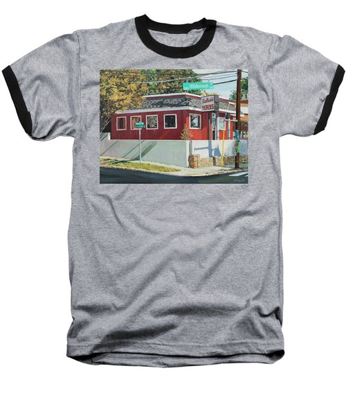 Sadlacks Restaurant Baseball T-Shirt