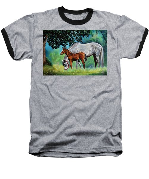 Safe Curiosity Baseball T-Shirt