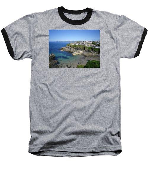Safe Haven Baseball T-Shirt by Richard Brookes