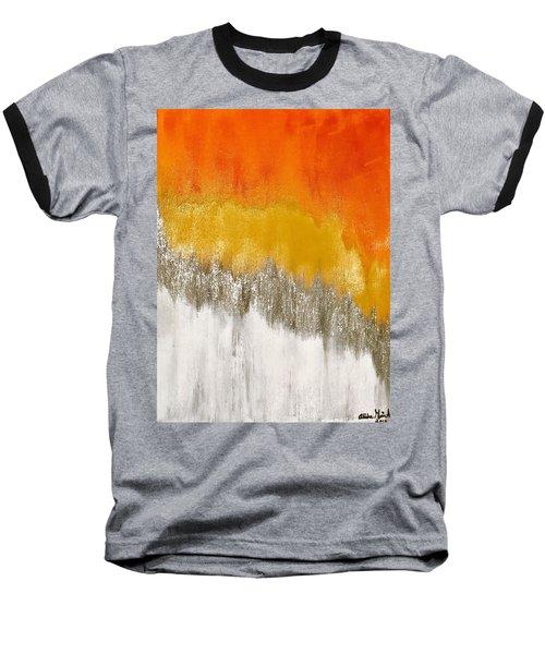 Saffron Sunrise Baseball T-Shirt