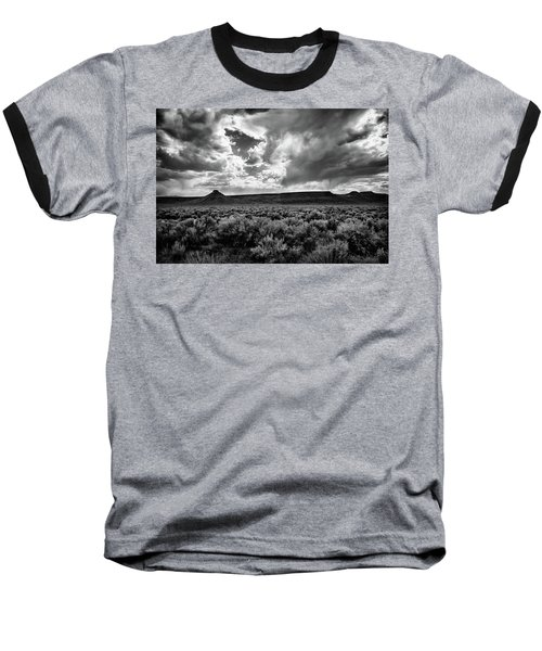 Sage And Clouds Baseball T-Shirt