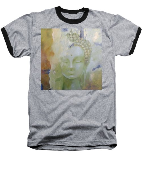 Baseball T-Shirt featuring the painting Sage Buddha by Dina Dargo
