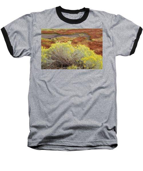 Sagebrush In The Malheur National Wildlife Refuge Baseball T-Shirt