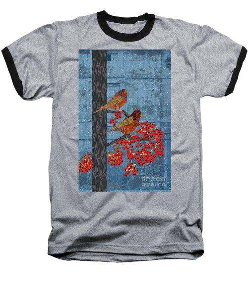 Sagebrush Sparrow Long Baseball T-Shirt