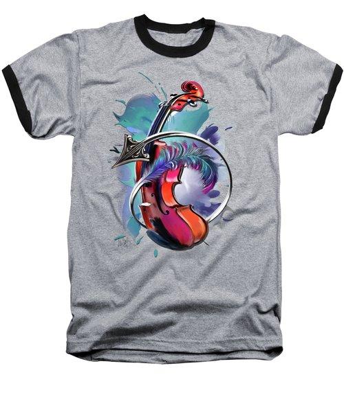 Sagittarius Baseball T-Shirt by Melanie D