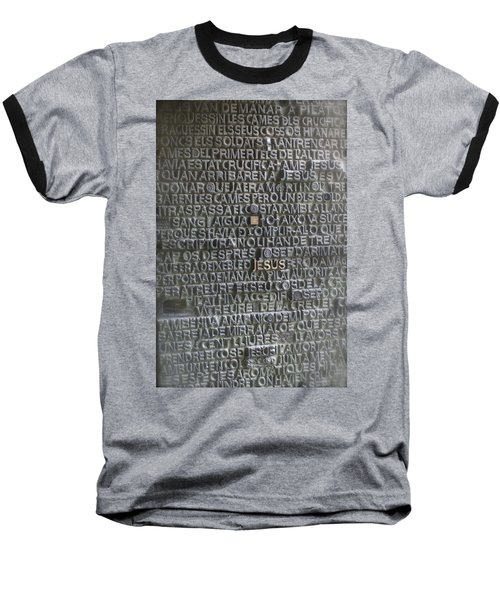 Sagrada Familia Doors Baseball T-Shirt by Henri Irizarri