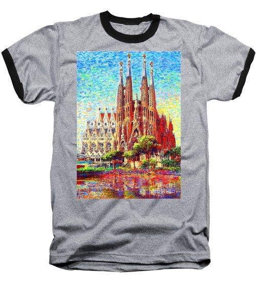 Sagrada Familia Baseball T-Shirt