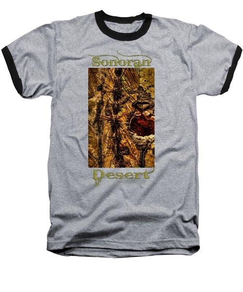 Saguaro Detail No. 12 Baseball T-Shirt
