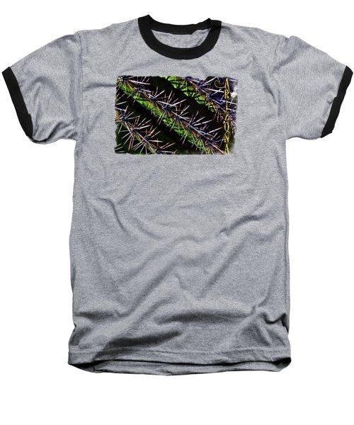 Saguaro Detail No. 28 Baseball T-Shirt