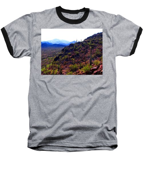 Saguaro National Park Winter 2010 Baseball T-Shirt