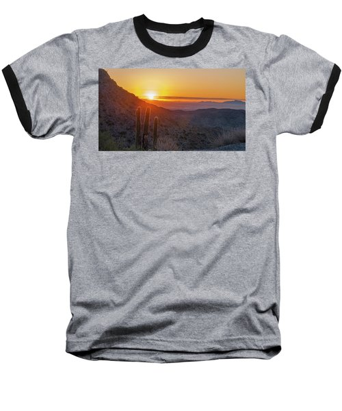 Saguaro Sunrise Baseball T-Shirt