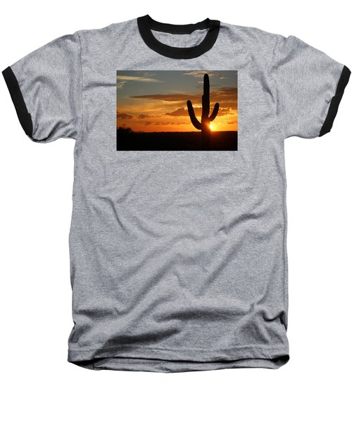 Saguaro Sunset Baseball T-Shirt