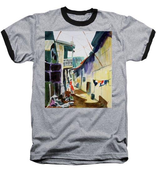 Saigon Alley Baseball T-Shirt by Tom Simmons