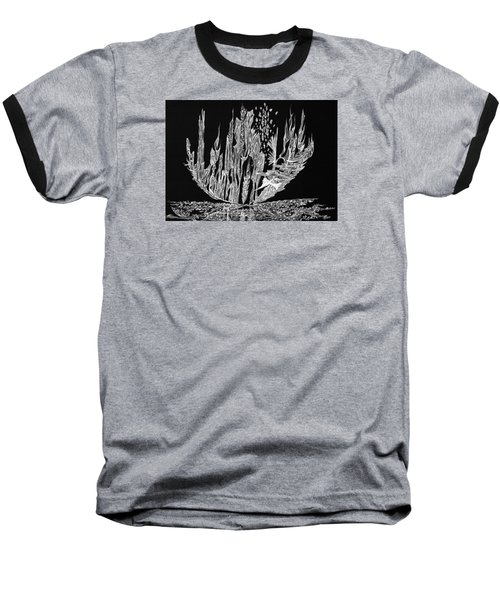 Sail Away Baseball T-Shirt by Charles Cater