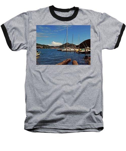 Baseball T-Shirt featuring the photograph Sail Boat by Gary Wonning