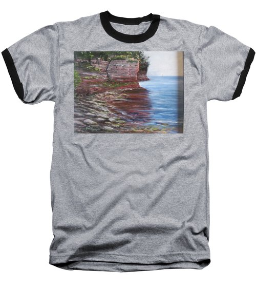 Sail Into The Light Baseball T-Shirt