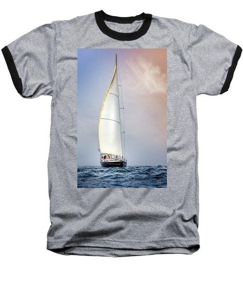 Sailboat 9 Baseball T-Shirt