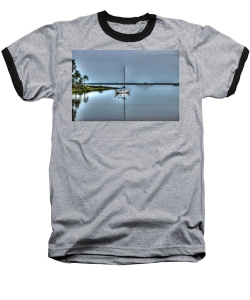 Sailboat Off Plash Baseball T-Shirt