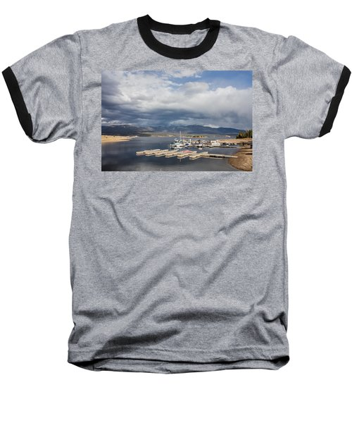 Sailboat Slips On Lake Granby In Grand County Baseball T-Shirt by Carol M Highsmith