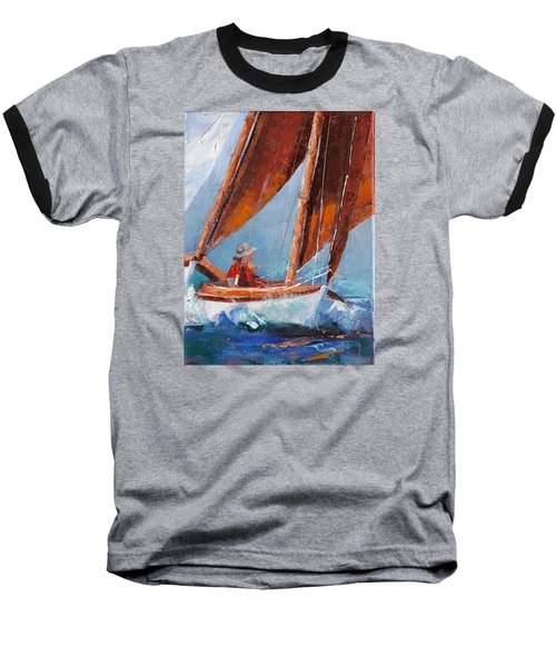 Sailboat Therapy Baseball T-Shirt