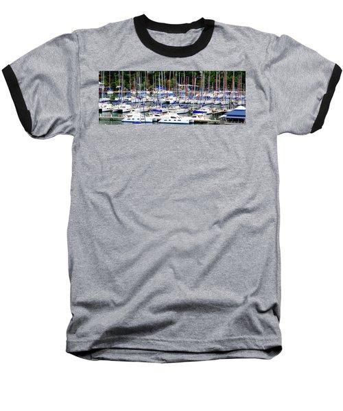 Sailboats Baseball T-Shirt