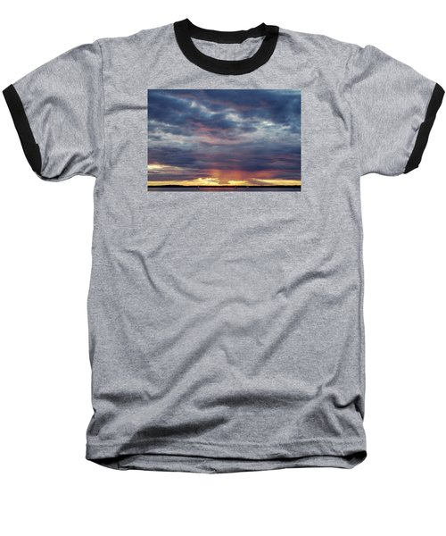 Sailboats On The Bay Baseball T-Shirt