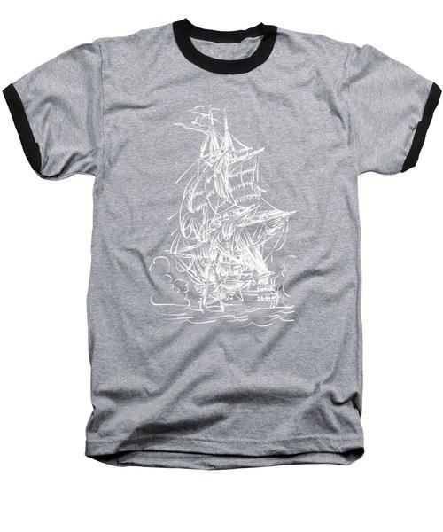 Sailing 2  Baseball T-Shirt